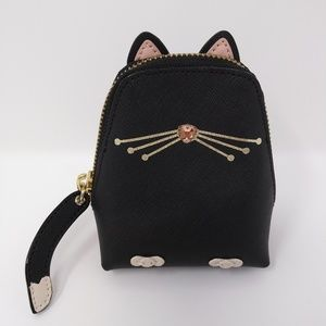 Kate Spade Leather Cat Coin Purse (NWT)